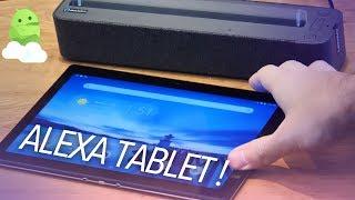 Lenovo Smart Tab impressions: Android + Alexa Tablet!
