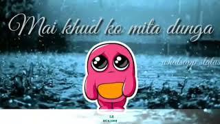 Tera sath chuta ye wada jo tuta sad song whatsapp status video ( Dj sohel)
