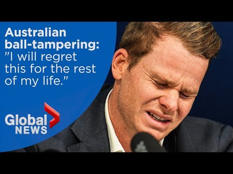 Australia's former cricket captain apologies for ball-tampering in South Africa