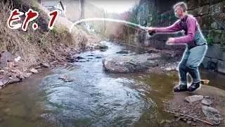 STREAMER FISHING EP 1  quot;Small Stream Brown Troutquot;