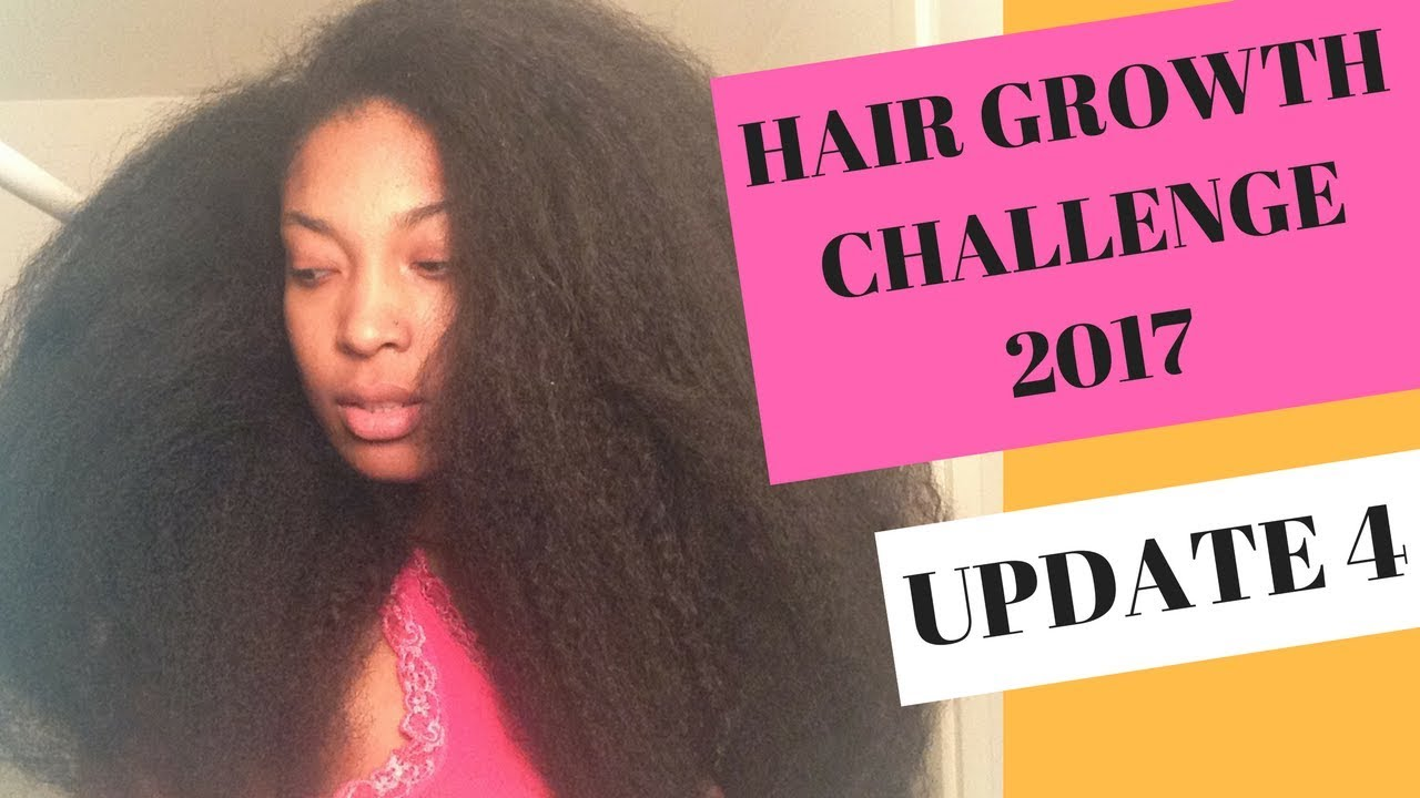 Hair Growth Challenge 2017 - Update #4