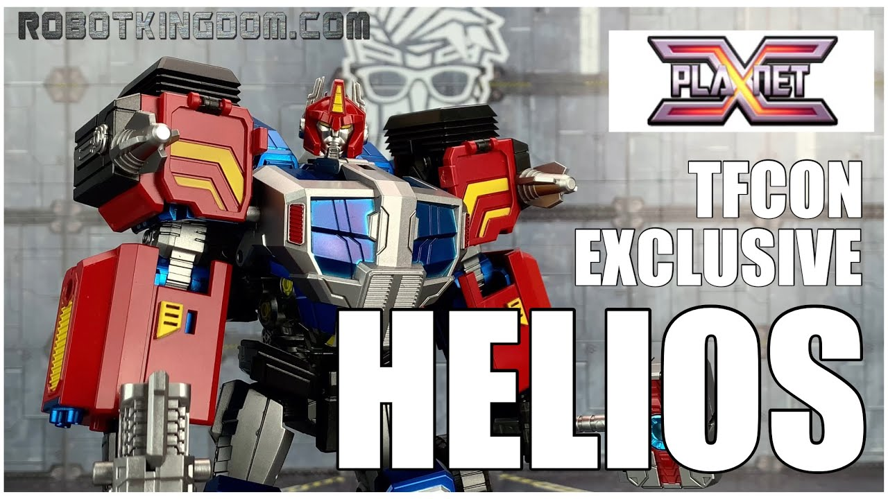 Planet X PX-14B HELIOS Fall of Cybertron Delta Magnus Review by Benscollectables