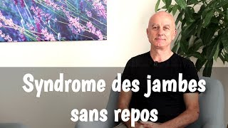 Syndrome des jambes sans repos et plantes