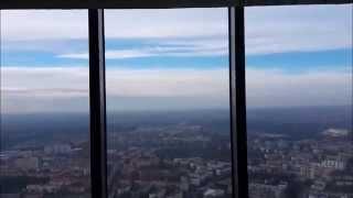 Вроцлав SkyTower(Польша, Вроцлав. Вид на город с высоты 220 метров. Обзорная площадка небоскреба Sky Tower 2014.12.11., 2014-12-11T17:48:27.000Z)