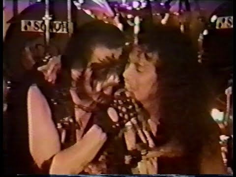 Metallica join King Diamond on stage - San Francisco, CA, USA (1986)