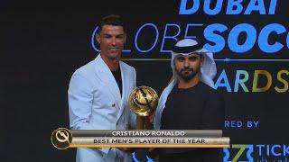 Cristiano Ronaldo Wins Best Player Globe Soccer Awards