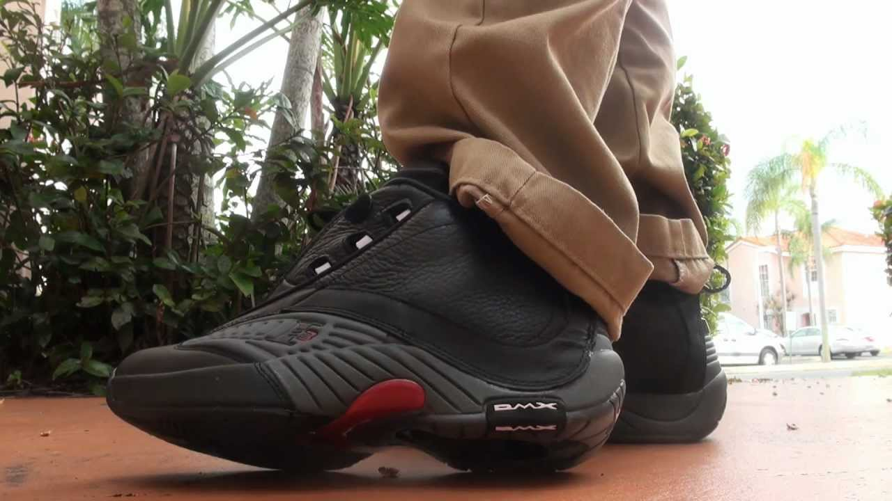 Reebok Answer IV Allen Iverson Review and on feet - YouTube