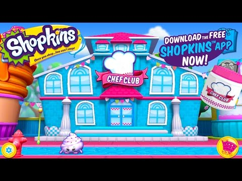 Shopkins World Chef Club Food Fight...