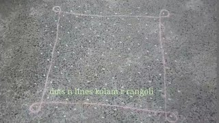big tippudu muggulu | sikku kolam with 15 dots | dot rangoli | traditional pulli kolam art designs