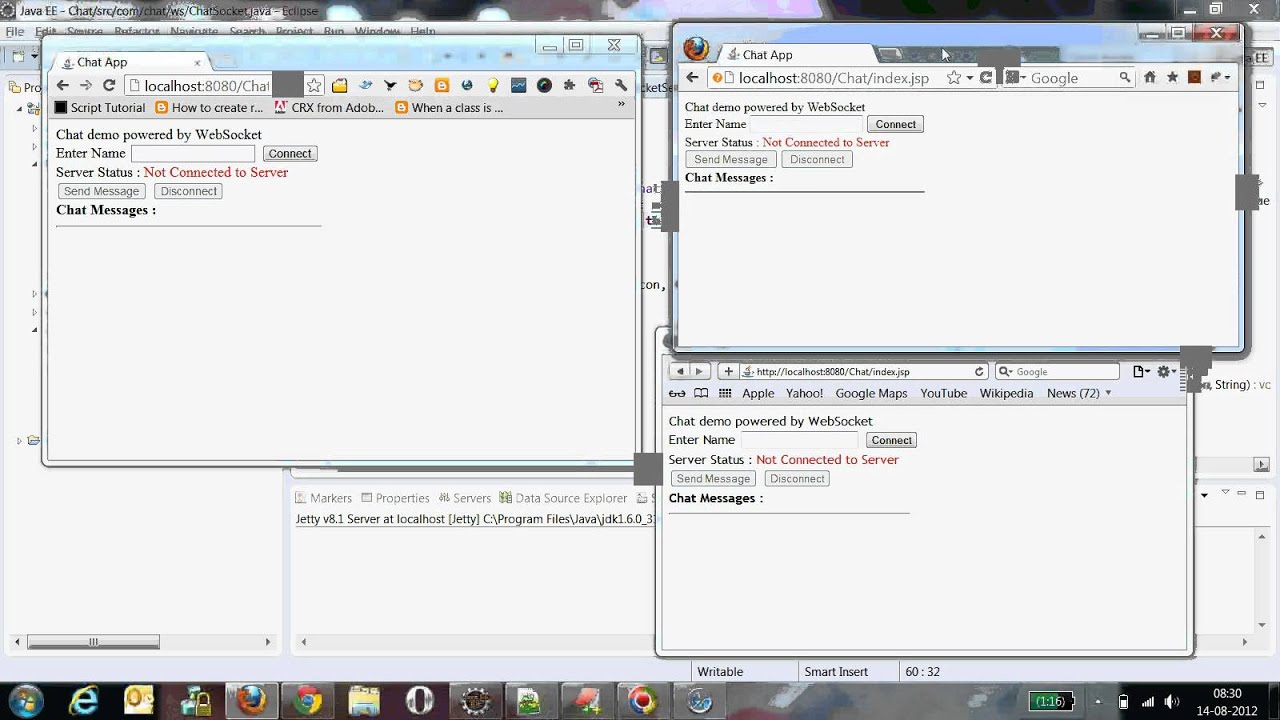 Chat application with websocket youtube chat application with websocket baditri Choice Image