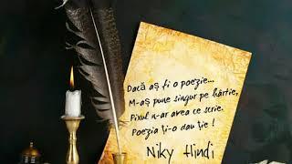 Niky Hindi & Karishma - Dacă aș fi o poezie ❤️ / Hit oct. 2018