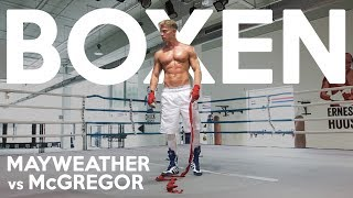 BOXTRAINING | MAYWEATHER vs McGREGOR KAMPF