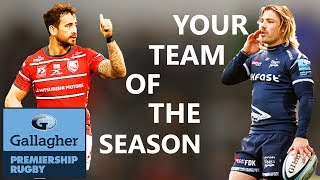 Fans' Team of the Season as Voted by YOU!   Gallagher Premiership Rugby 2019