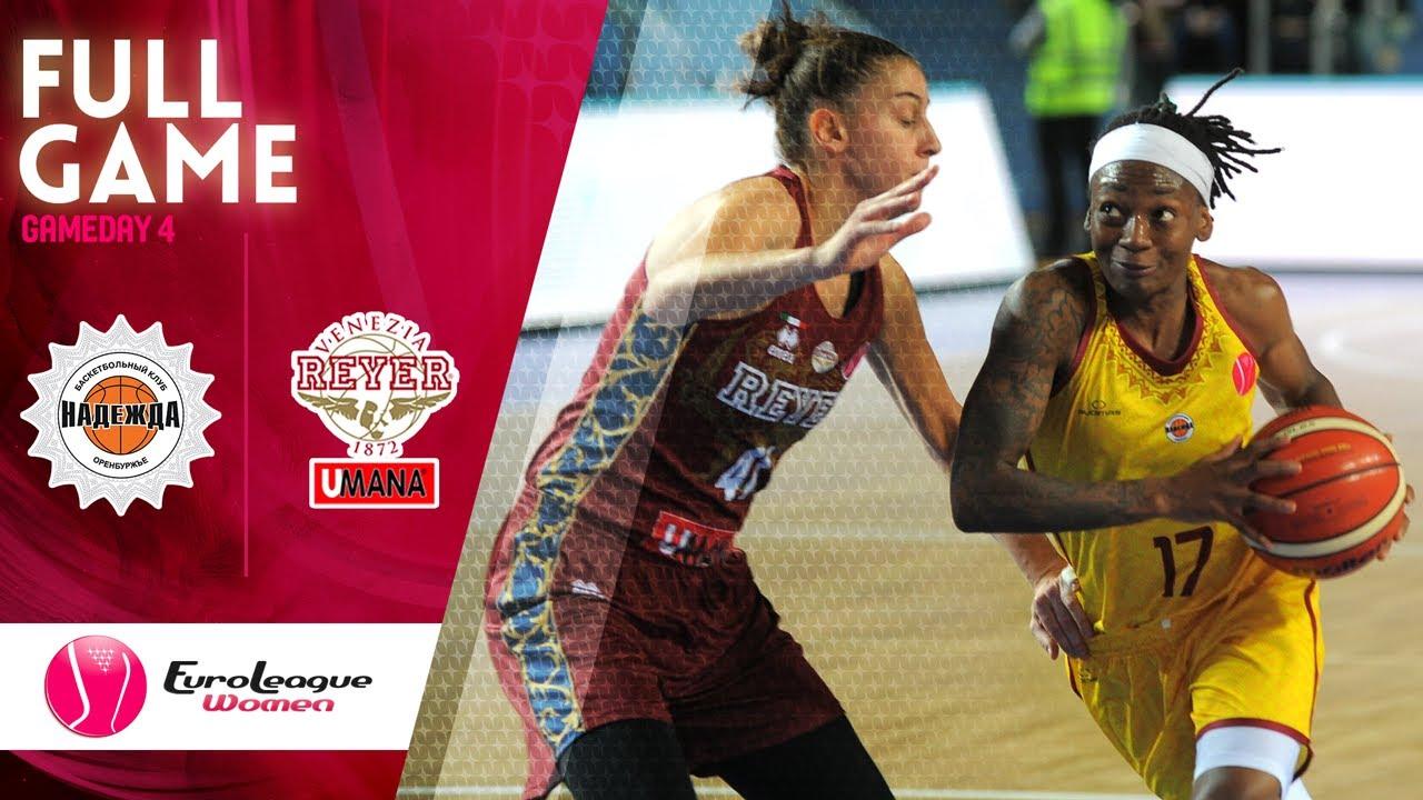 Nadezhda v Reyer Venezia - Full Game - EuroLeague Women 2019