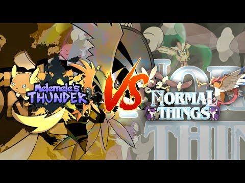 LUCHA DE CLUBS POKÉMON: ¡MELEMELE´S THUNDER vs NORMAL THINGS! J-2 (Pokémon UltraSol & UltraLuna)
