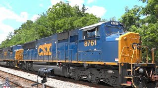 Last Two CSX EMD SD60M's Together On Tropicana Train 🍊