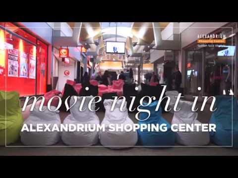 Movie night in Alexandrium Shopping Center