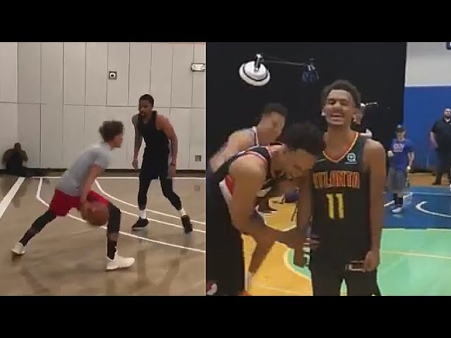 trae-young-destroys-nba-players-with-carmelo-anthony-and-has-a-3-point-contest-vs-michael-porter-jr