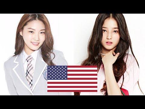 American K-POP Female Idols!