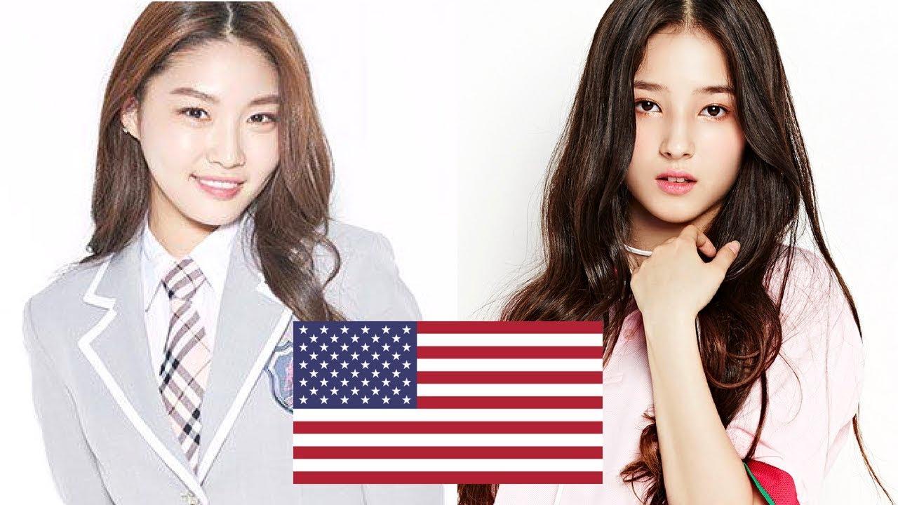 Half Korean K Pop Idols Youtube