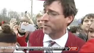 WDRB TV MCS Protest