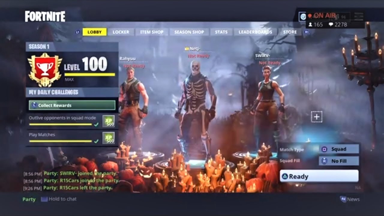 Playing With A Level 100 Fortnite Battle Royale We Won
