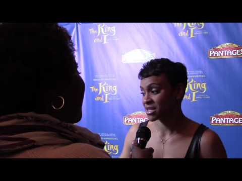 Carly Huges talks the King & I and American Housewife at the Pantages