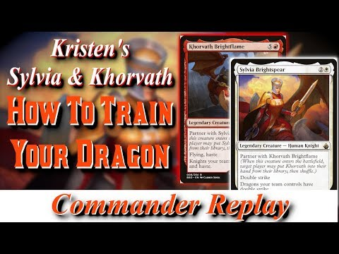 Kristens Sylvia And Khorvath - How To Train Your Dragon Vs Syr Gwyn, Thraximundar Zombies, Kresh