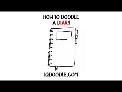 How to Draw a Diary (drawing tips)