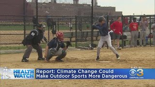 Climate Change Could Make It More Dangerous To Play Outdoor Sports
