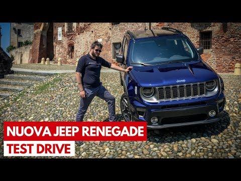 Nuova Jeep Renegade | Test Drive del restyling e del nuovo motore tre cilindri