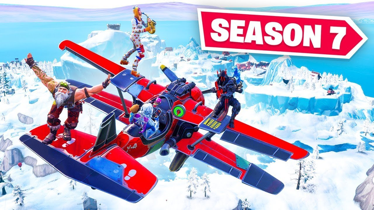 this is fortnite season 7 - fortnite saison 7