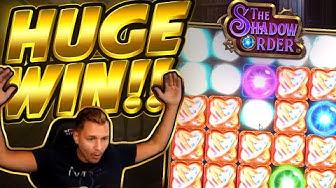 HUGE WIN!!! Shadow Order BIG WIN - Casino game from Casinodaddy stream