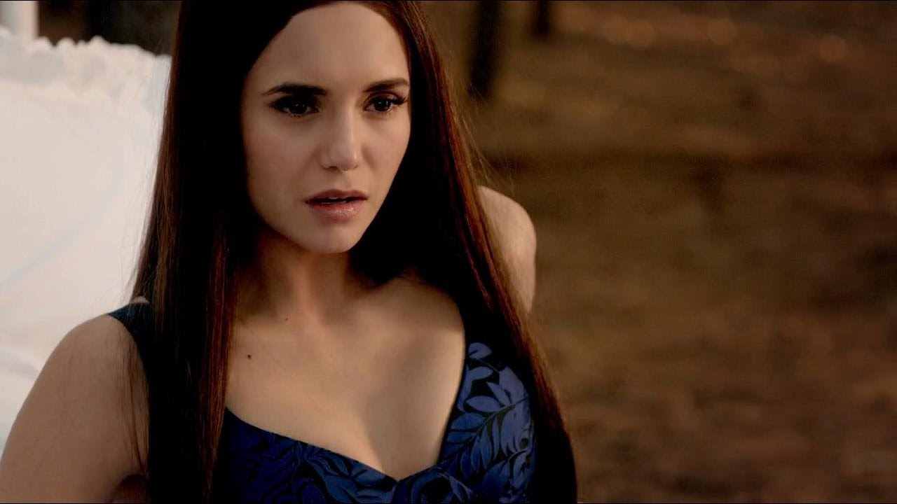 The Vampire Diaries 8x16 Bonnies Dying Sees Elena In Her Head And
