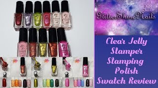 Clear Jelly Stamper Stamping Polishes Swatch Review