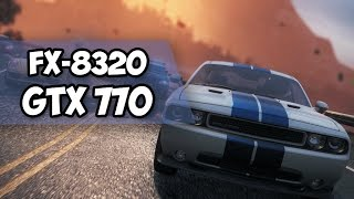 ADM FX 8320 + GTX 770: NFS Most Wanted 2 ULTRA SETTINGS (УЛЬТРА ВЫСОКИЕ НАСТРОЙКИ)