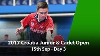2017 ITTF Croatia Junior & Cadet Open - Day 3 thumbnail