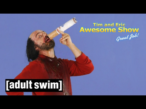 4 Big Spagett Spooks | Tim and Eric Awesome Show, Great Job! | Adult Swim