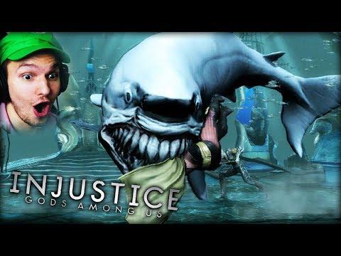 AQUAMAN'S FATALITY IST NICHT MEHR LUSTIG !! EIN HAII ?? | Injustice (Part 2)