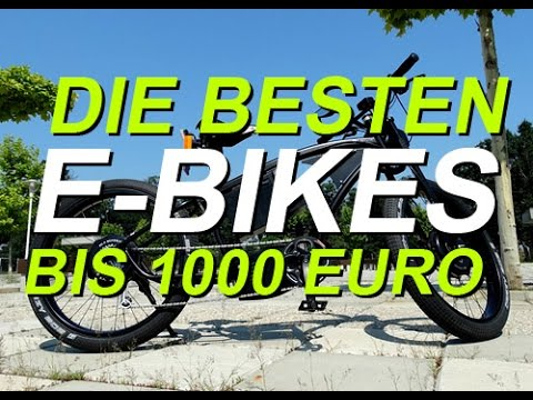 die besten e bikes bis unter 1000 euro ncm moscow hamburg london youtube. Black Bedroom Furniture Sets. Home Design Ideas