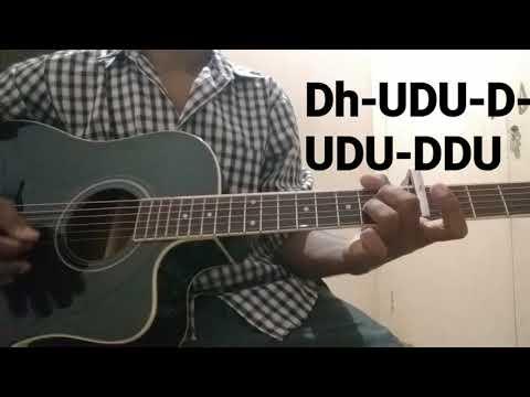 How to play 'GUDU GUDIYA' song on guitar (Kannada tutorial)