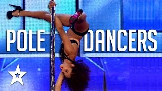 Repeat youtube video Jaw Dropping Pole Dancers On Got Talent | Got Talent Global