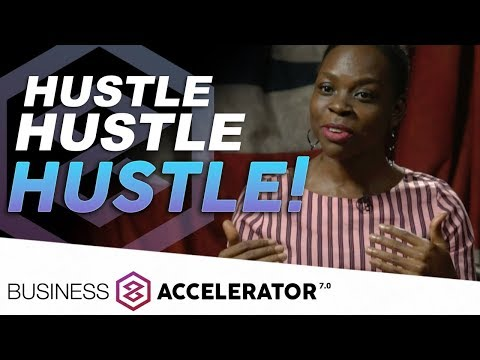 HUSTLE HUSTLE HUSTLE - Merle Tracey Galloway, London Real Business Accelerator Graduate