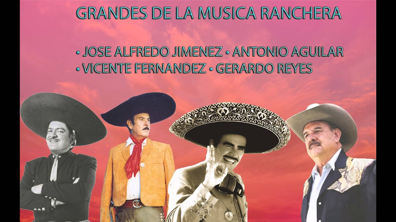 Grandes De La Musica Ranchera Mix 2016 Youtube