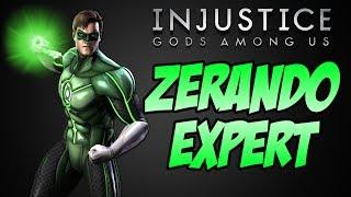 Injustice Ultimate Edition PC Zerando no Expert - Lanterna Verde