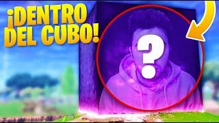 DENTRO DEL CUBO de FORTNITE