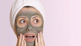 ماسك الطمي لتقشير وتنظيف البشرة | How to Make a Homemade Facial Mud Mask