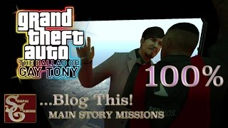 GTAIV | TBoGT | Mission #17 | ...Blog This! (100%)...