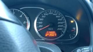 Mazda 6 Diesel engine start  -27 C