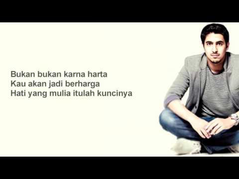 Lirik Kun Anta (Jadi Diriku) Bahasa Indonesia